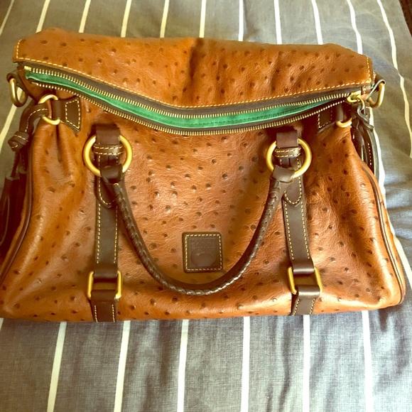 Dooney & Bourke Handbags - Dooney and Bourke ostrich purse